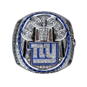 2012 Lombardy Trophy NY Giants Ring