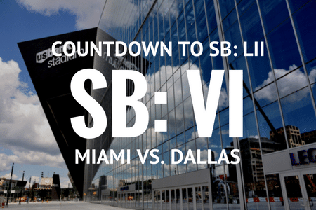 Countdown to Super Bowl LII
